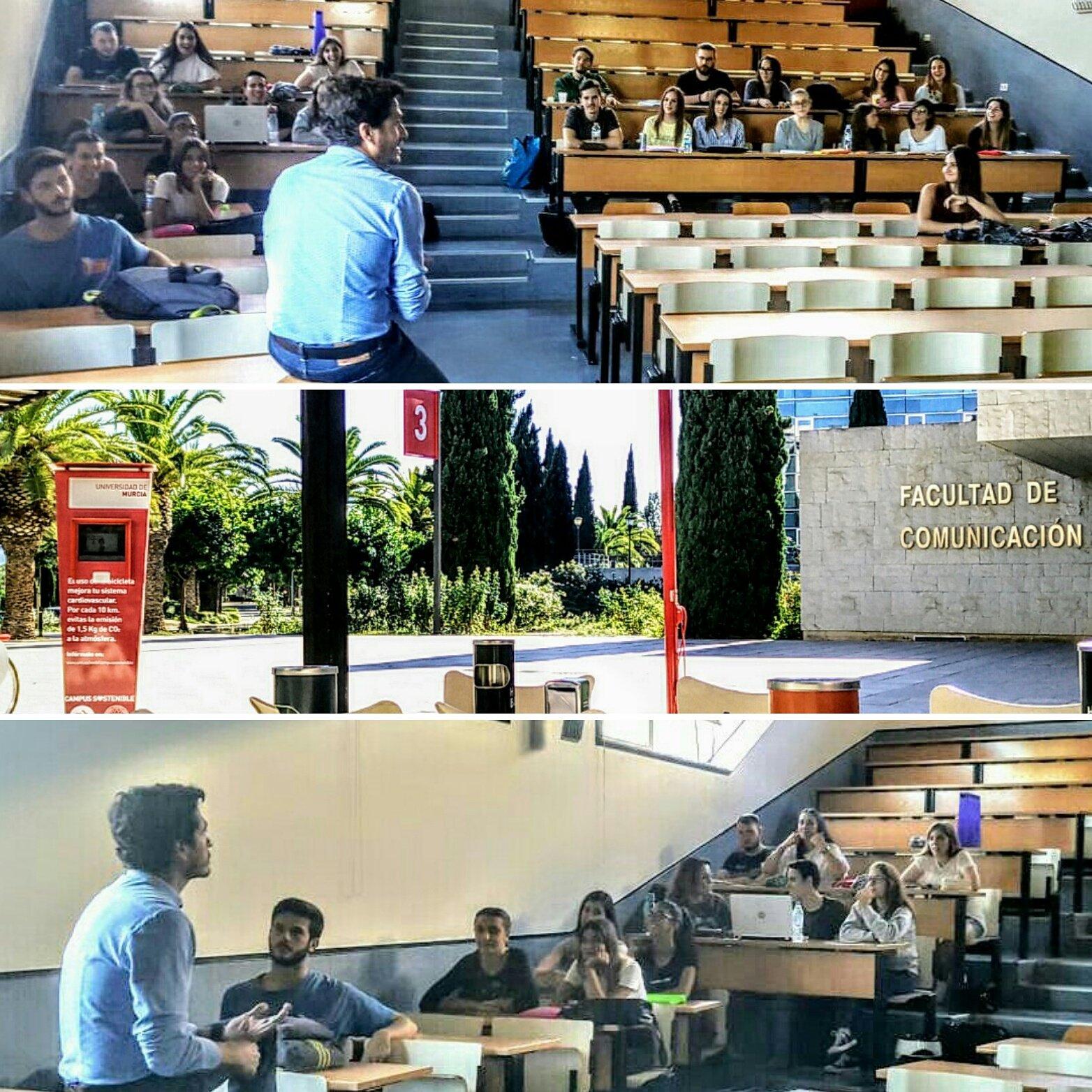 Charla en la Universidad de Murcia: ¿Cómo ha cambiado la publicidad en los últimos años?