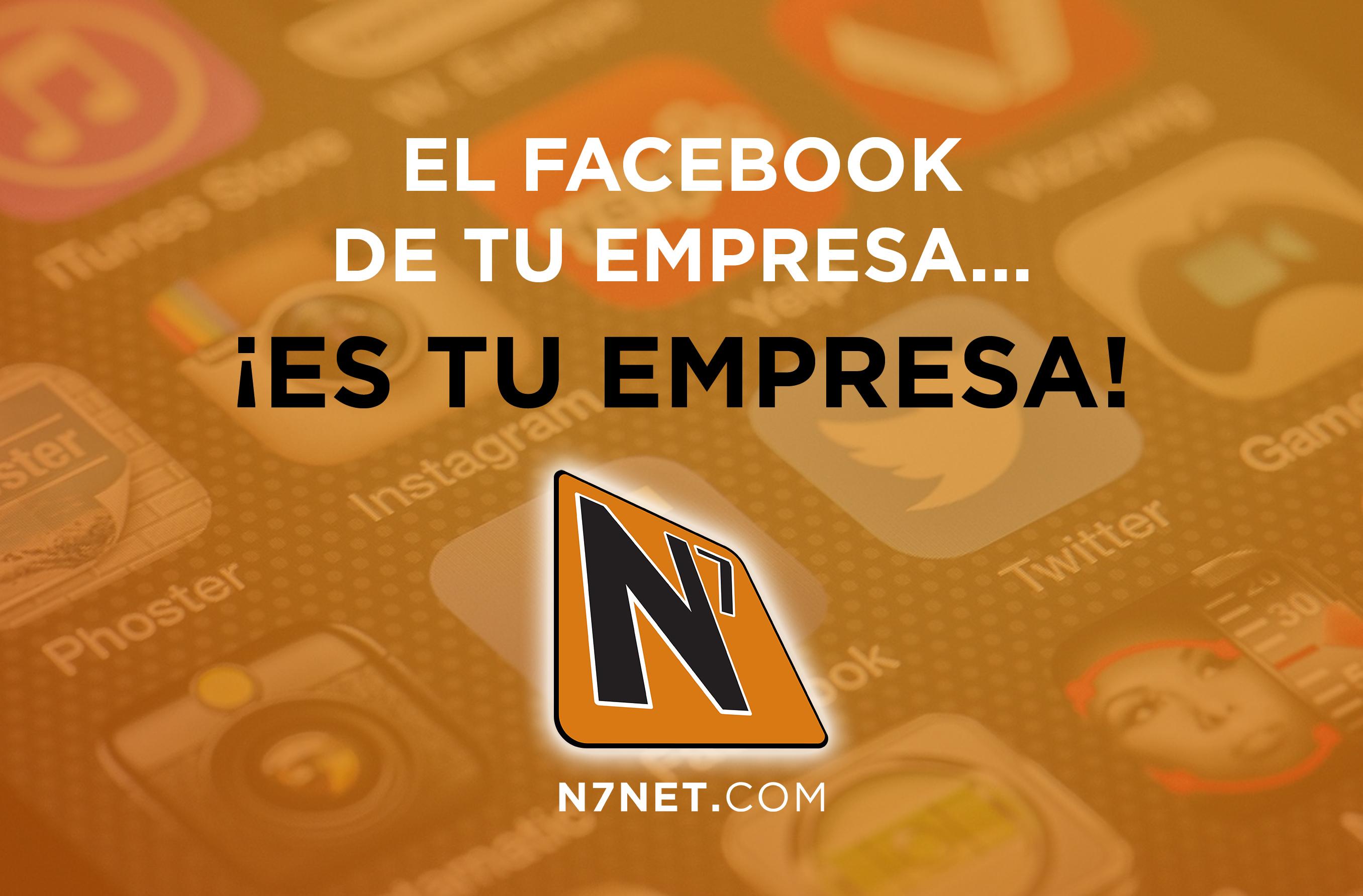 El Facebook de tu empresa… ¡es tu empresa!