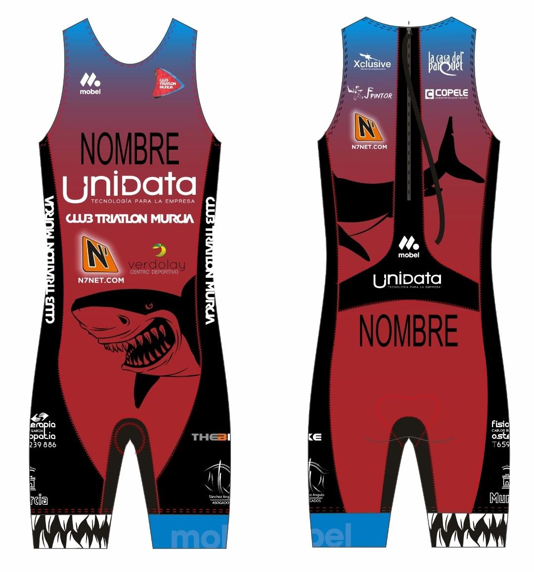 N7, patrocinador oficial del Club Triatlón Murcia.