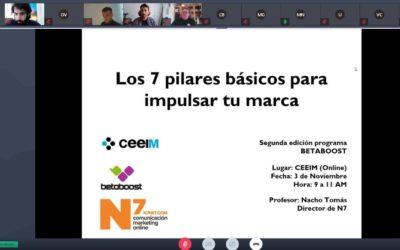 N7 colabora un año más con el CEEIM en el proyecto BETABOOST