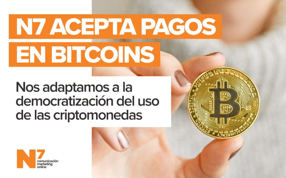 La murciana N7, una de las primeras agencias de comunicación de España en aceptar pagos en Bitcoin